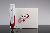 Wholesale 3 sets Speed Auto Electric Mirco needle derma pen DR PEN ULTIMA dermapen with needle cartridges hot sale