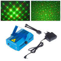 Wholesale LED Mini Stage Light Laser Projector Club Dj Disco Bar Stage Light Voice Activated Version FDA Standards Laser Type