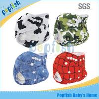 Wholesale 2016 fashion design PUL Popfish china wholesaler smart cloth pocket mom love reusable baby pants diaper