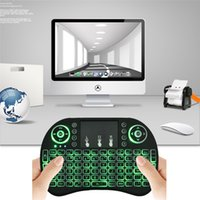Cheap Wireless Keyboard Rii Mini i8 Backlit Air Mouse Multi-Media Remote Control Touchpad Handheld for MXQ X96 S905X S912 T95X M8S Pro TV BOX