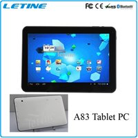 Cheap 2015 NEW tablets 10 inch Allwinner octa core Tablet PC A83 2.0Ghz HD Capacitive 0.3 dual camera DHL free shipping