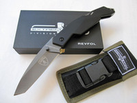 Wholesale EXTREMA RATIO Revfol D28 open Knife C Blade HRC steel handle rescue camping gear knife in Original box