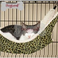 Wholesale Hot Sale Nice Warm Cat Bed Pet Hammock For Pet Cat Rest Cat House Soft And Comfortable Cat Ferret Cage IC676360