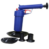 air drain blaster - Home Office Toilet Floor Drain Canalisation Air Power Plunger Blaster Pump Cleaner
