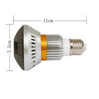 EazzyDV BC-881M MIRROR WiFi / AP HD960P P2P H.264 Caméra réseau IP Angle de visionnement de 90 degrés avec LED IR (940nm) Éclairage d'ampoule