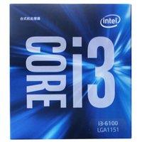 al por mayor duo de intel-Intel (Intel) i3-6100 Core Duo 1151 Interfaz de procesador de la CPU en caja
