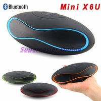 Wholesale Bluetooth Mini Speaker Wireless Support AUX TF Card USB Reader FM Radio Built in Mic Hands Free Portable Computer MP3 Speakers