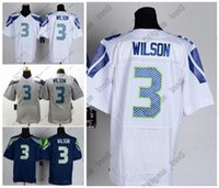 away games - 2016 Seahawks Russell Wilson Seattle Men Elite Women Youth Game Home Away Football Jersey White Gray Deep Blue High Quality Stitched Wear