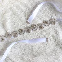 Wholesale Hot Selling Vintage Crystal Rhinestones Wedding Party Dress Bridal Bridesmaid Sash Belt Women s Accessories Colors