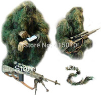 Wholesale FREE D innoviation ghillie poncho ghillie suit for hunting birdwatching photography huntin clothing camouflage net purpose camo