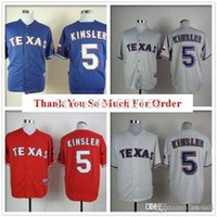 baseball kinsler rangers - 2016 New Ian Kinsler Jersey Texas Rangers throwback Jerseys Cool Base Mens Baseball Home Away White Grey Embroidered Logo