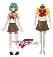 academy school uniforms - Macross Frontier Mihoshi Academy Girls School Sailor Uniform ST Anime Cosplay Costume