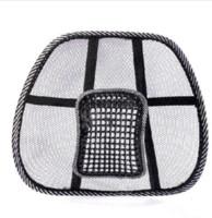 Wholesale Car cushion car summer viscose back support lumbar pillow pad back cushion Office Chair Massage Back lumbar support