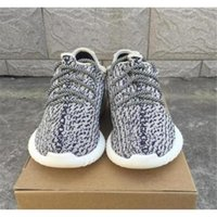 Cheap kanye west YZY boost 350 turtle dove Outdoor Sport Shoes Sport snakers Kanye West tan 350 boostDrop shipping With Boxes Size 11.5