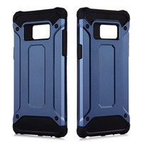 Wholesale for Galaxy Note S7 Plus Edge S6 Edge iPhone S Plus Hybrid Shockproof Cell Phone Case TPU PC Back Cover