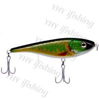 big lures for pike - 160mm G Europe big game sea water fresh water self balance slow sinking sea fishing jerkbait lure for pike