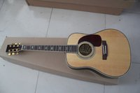 Wholesale Best New brand Hot D45 Abalone acoustic guitar with Excellent Quality
