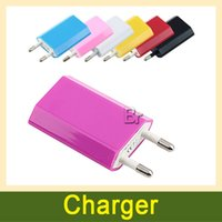 ac adapter battery - Colorful EU US Wall Charger AC Power Adapter Home Charger Battery Chargers For Samsung Galaxy S5 S4 S6 Note For iphone6 Cell phones X11