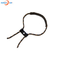 archery stand - Archery Compound Bow Adjustable Braided Nylon Cord with Aluminum Stand for Hunting Shooting Accessories Bow Wrist Sling Strap