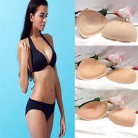 Wholesale 2PCS Removeable Swimsuit Bikini Padding Insert Push up Gathered Enhancer Bra
