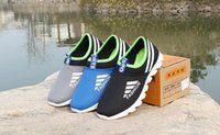 Wholesale Hot spring and summer new breathable mesh shoes men s business casual flat shoes shallow mouth single shoes sports running shoes