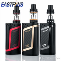 Wholesale Original SMOK Alien Starter Kit W Alien Mod and ML TFV8 Baby Tank ohm V8 Baby Q2 Core ohm V8 Baby T8 Core