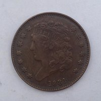 arts crafts usa - USA Classic Half cents Coin Crafts pieces bale Promotion Cheap Factory Price nice home Accessories Coins