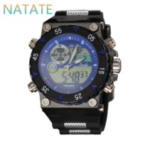 arts rubber watch - NATATE Elegant Classic Men Watch Classical Art Carved Craft Design Precision Time Chronograph Men Sport LED Watches