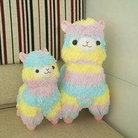 alpaca bear - Rainbow Alpaca Vicugna Pacos Plush Toy Japanese Soft Plush Alpacasso Baby Plush Stuffed Animals Alpaca Gifts cm and cm