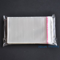 adhesive transparency - cm self adhesive seal OPP bag transparency dust free hair band packing polyester bags