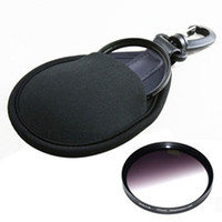 Wholesale Camera Filter Kits UV CPL Shockproof Bag Case Storage Box Pocket Pouch Camera Lens Protect Wallet Accessories