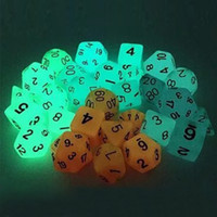 Wholesale Luminous x Sided Die D4 D20 DUNGEONS DRAGONS D D RPG Dice Game Set