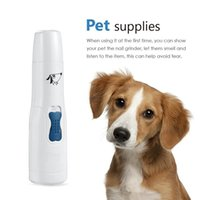 Wholesale 2016 Professional Pet Dog Puppy Cat Electric Toe Nail Grooming Grinder Clipper File Scissor Kit