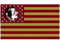banner grommet - Florida State Seminoles flag ftx5ft Banner D Polyester Flag metal Grommets