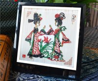 antique framed art - The handiworkfilm shadow frame decorative painting China special business gifts