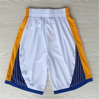 Wholesale Golden State Basketball Shorts Stitched Logo Embroidery New Material Rev Sports Shorts Mix order