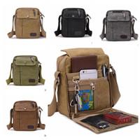Wholesale Men s Canvas Bags Crossbody Military Messenger Shoulder Bag Tote Satchel Handbag Bags Outdoor Sports Shoulder Bag KKA947