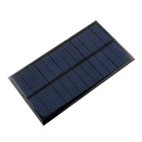 110*60*2.5mm 1 6V 1W Polycrystalline Solar Power Panel Module DIY 110x60 6V 150MA 1W For Mobile Power Bank Battery Cell Phone Toys Chargers Portable