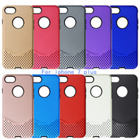 armor mesh - For iPhone plus For Samsung galaxy note galaxy J7 Case Hybrid Hard Plastic TPU Mesh Armor Cover Opp Package