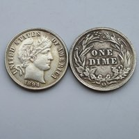 Wholesale 1894 o Date Barber One Dime Coin Copy High Quality Promotion Cheap Factory Price nice home Accessories Silver Coins