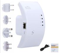 al por mayor mejorar la señal wifi-Wifi del repetidor 802.11N 300Mbps Red Router Wifi ampliador antena Wi-Fi Wi fi Roteador amplificador de la señal Repetidor 300M de Arco Mejorar