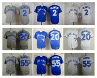 Wholesale Toronto Blue Jays Baseball Jersey Discount Cheap Baseball Shirts Troy Tulowitzki Josh Donaldson Russell Martin Players Jerseys