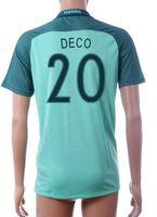 deco - Thai Quality Customized European Cup National Team away QUARESMA Soccer Jersey Shirts Discount Cheap DECO football Wear