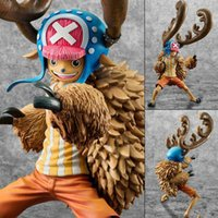Wholesale Anime One Piece Action Figures Chopper Dolls Toys Strong horns Tony Tony Chopper PVC figure models