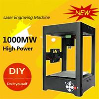 Wholesale 220V mw Miniature Electric Laser Engraving Machine Alloy Laser Engraver Household DIY Mini USB Printer Equipment Supercarver