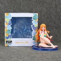 adult pvc figures - 12 cm One piece Pop Nami Sex Bikini PVC Action Figure Collectable Model Toy for Adults