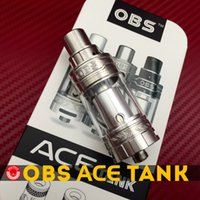 ace ceramic - Original OBS ACE Tank ACE RBA Tank ml Dual Airflow with Ceramic Coil Side Filling with RBA Section