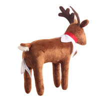 Wholesale Reindeer Elf Pets On The Shelf Soft Dolls For Kids Christmas Gift A Reindeer Tradition dolls clothes