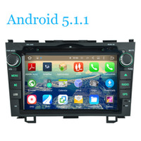 Wholesale Quad Core Android Car DVD Player Tape Recorder GPS For Honda CR V Wifi Mirror Link Bluetooth