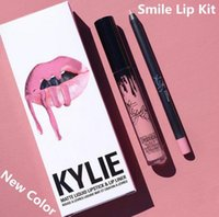 beauty wine - 28 Colors New Kylie Jenner Lip Kit Gloss Lipstick Lipliner Velvet Boxset Matte Lipstick Waterproof Makeup Beauty SMLIE SPICE PUMPKIN TRICK